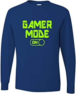 Go All Out Adult Gamer Mode On Funny Gaming Long Sleeve T-Shirt