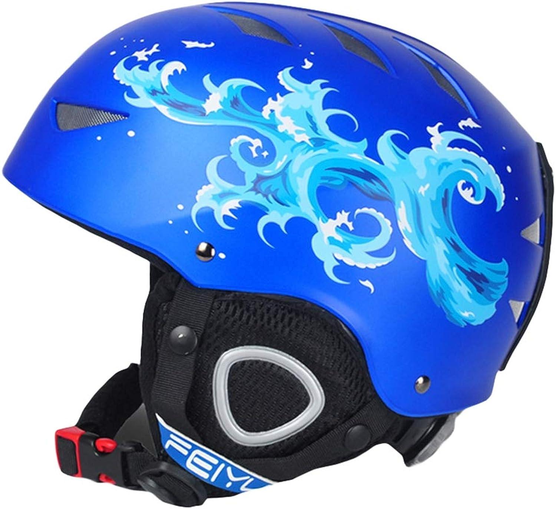 SK Studio Unisex Kinder Skihelm Snowboardhelm Snowboardhelm Snowboardhelm mit Ventilationssystem und Stufenloser Anpassung Skates Helmet mit Fleecefutter B07LDR8258  Markenschmaus 2477f3