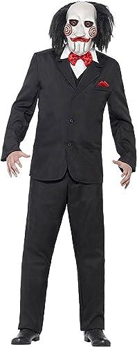 SAW masque jigsaw produit agréé costume noir blanc rouge