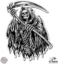 GT Graphics Grim Reaper - Vinyl Sticker Waterproof Decal