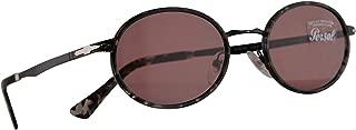 Persol 2457-S Sunglasses Demo Gloss Black w/Violet Lens 52mm 10784R PO 2457S PO2457S PO2457-S