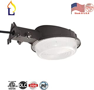 1 Pack JLLEAD LED Barn Lights 50 Watts Dusk to Dawn Photocell Included,Perfect Yard Light Warehouse Street Lamp Area light,6500K,UL/DLC listed,Waterproof,700W Incandescent or 200W HID Light Equivalent