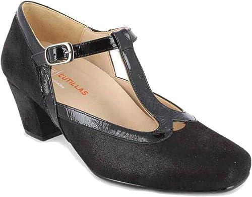 Doctor Cutillas 78103 Zapato salón mujer Lycra, Cierre Hebilla Pulsera Tobillo