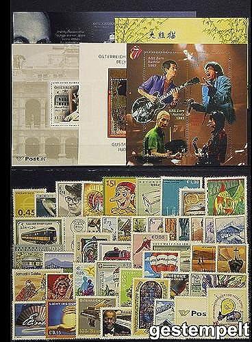 Goldhahn  erreich Jahrgang 2003 gestempelt Briefürken für Sammler