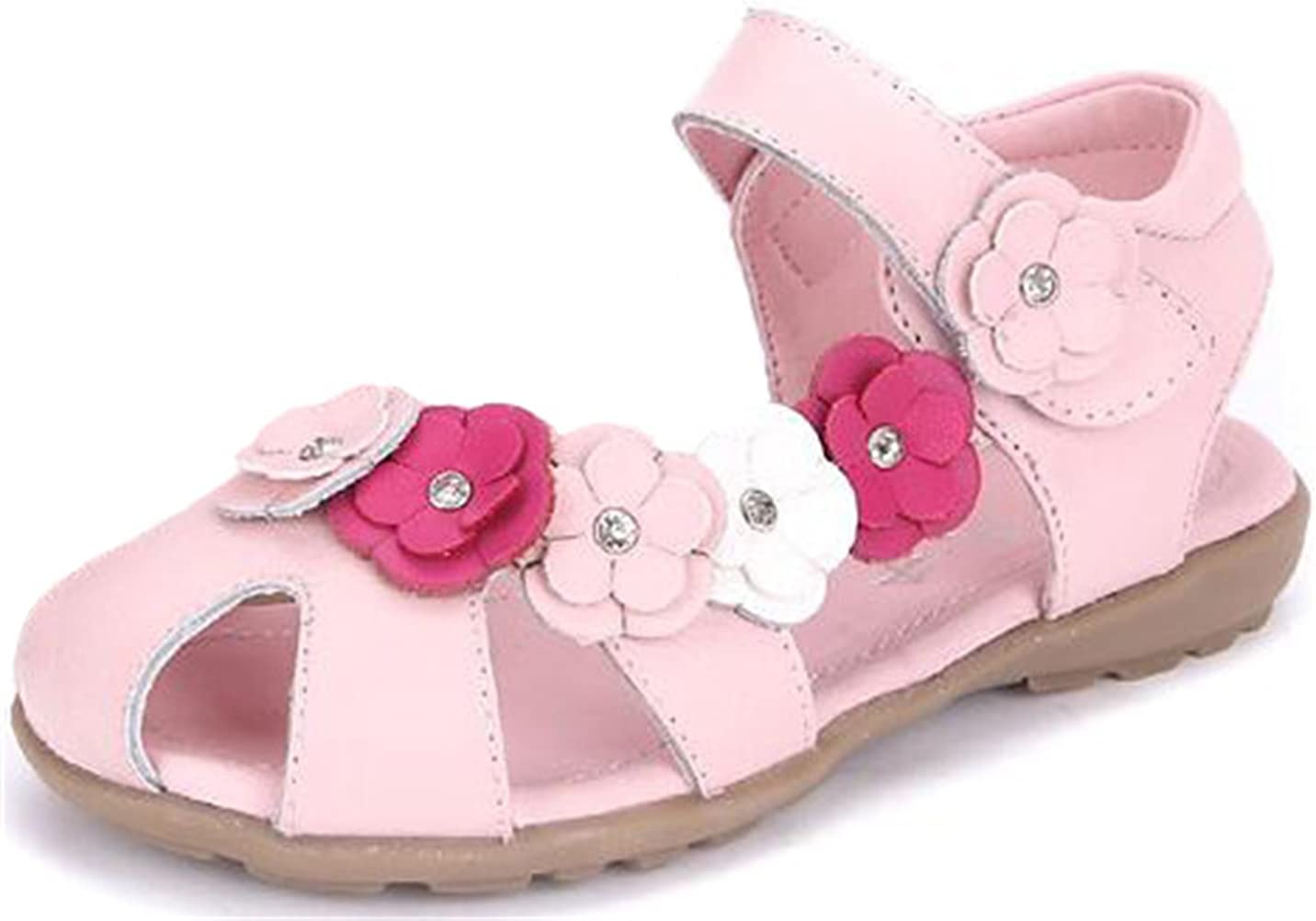PPXID Genuine Little Girl's Soft Leather Princess Oxford Ranking TOP4 Sandal Flowers