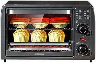 Horno Eléctrico Multifuncional Hogar, Cocina 13L Mini Hornear De Doble Capa Totalmente Automático Pequeña Máquina De 1050W / Negro / 372×295×235mm