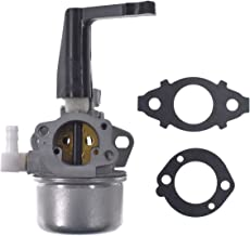 UAUS 696065 697422 Tiller Carburetor Carb with Mounting Gasket Kit for Briggs & Stratton 110402 110412 Horizontal Engine