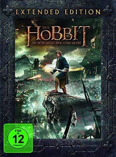 Der Hobbit: Die Schlacht der fünf Heere (Extended Edition, 5 Discs)