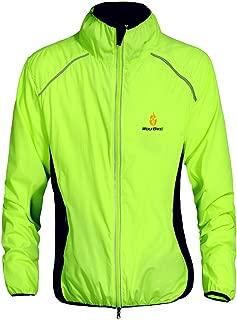 WOLFBIKE Unisex Running Cycling Jacket Jersey Windbreaker Windproof Jacket Lightweight Portable Outdoor Wind Coat