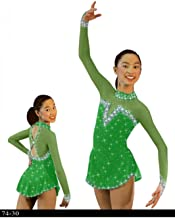 FidgetGear Figure Skating Dresses Custom Baton Twirling Costume Ice Figure Skating Dresses
