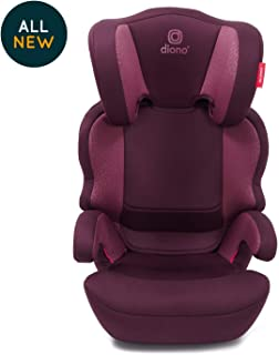 Diono Everett NXT Fix High Back Booster Seat, Plum