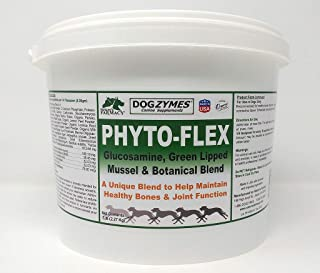 Dogzymes Phyto Flex - Bone Joint Soft Tissue Support - Glucosamine, Chondroitin, MSM and Hyaluronic Acid