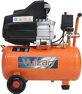 Compressor de Ar 8,0 Pés 25 Litros 2,5HP 160L/m com 2 Saídas 110V-VULCAN-VC25