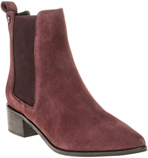 Superdry Zoe Quinn High Chelsea Womens Boots Maroon