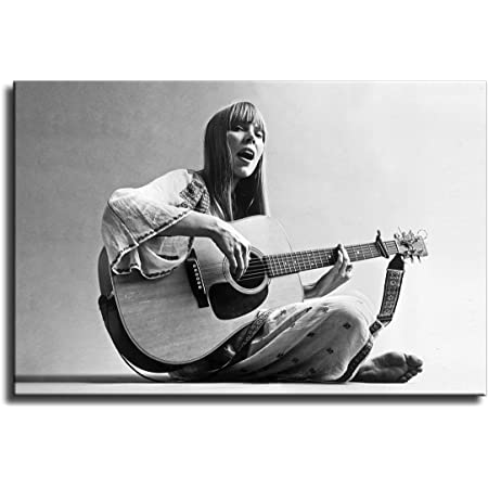 N-100 Joni Mitchell Poster Great Music Singer Wall Decor