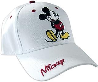 کلاه بیس بال بزرگسالان دیزنی کلاسیک میکی موس ، سفید و قرمز