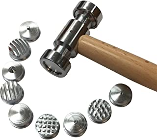 Best texturing hammer with 9 interchangeable faces Reviews