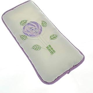 Justina Claire Gafas Caso en una Mackintosh Morado diseño de Rosas