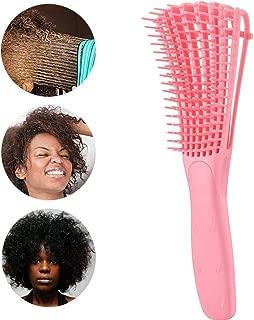 Detangling Hair Brush for African American Hair,Women Vented Hairbrush Detangler Brush for Natural Black Hair,Curly Hair,Long Thick Hair,Fine Hair or 3a-4c Hair,Wet/Dry (Pink)