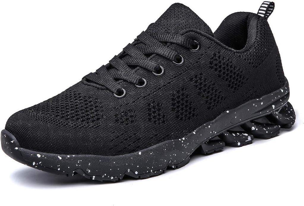 JOYBI Women Breathable Flat Sneakers Comfort Lightweight Mesh Slip On Casual Round Toe Walking Fitness Shoes