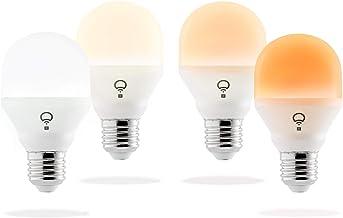 LIFX Mini Day & Dusk A19 LED Smart Light Living Pack - Edison Screw E27 (4