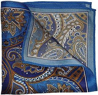 The Paisley Splendor Silk Pocket Square