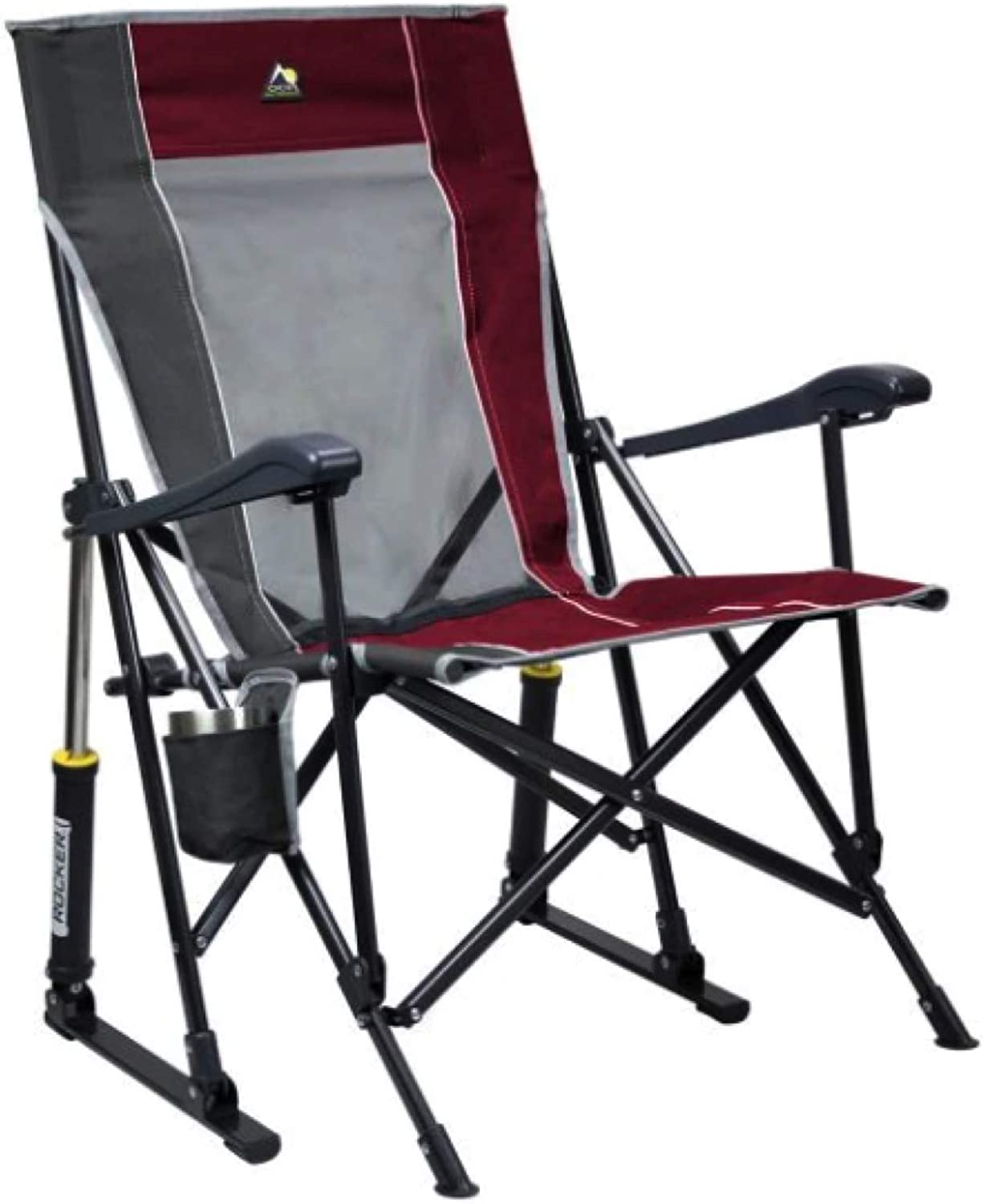 Large special price !! GCI Roadtrip Rocking Chair Outdoor Quantity limited Cinnamon Pewter