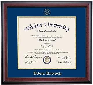 webster university seal