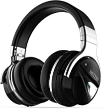Wireless Bluetooth Headphones with Mic Active Noise Cancelling Headphones Over Ear 30H Playtime Hi-Fi Deep Bass Comfortable Protein Earpads for Travel Work PC Cellphone