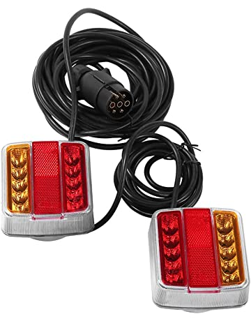 Juego de luces traseras con cable para remolque de coche Autolight 24 I 7,5 m