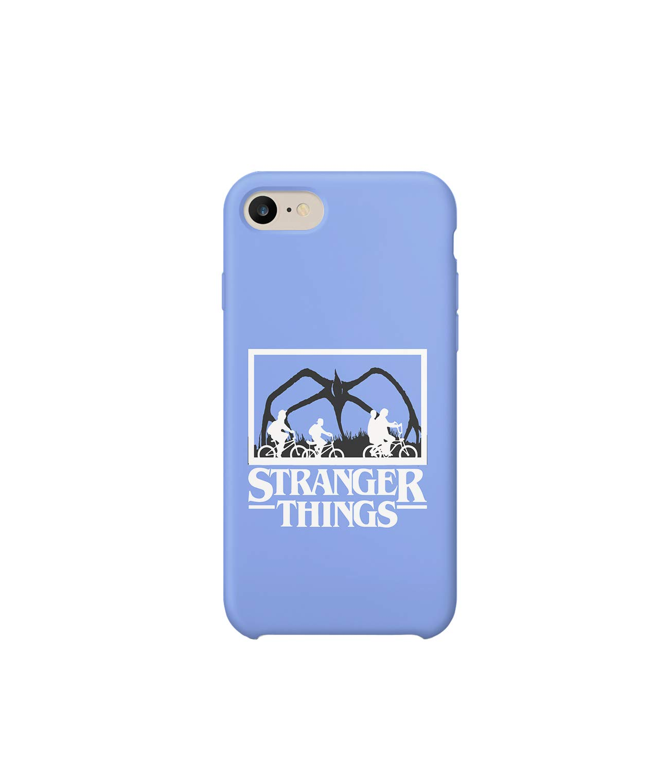 GlamourLab Stranger Things Kids On Bicycles Road_R2689 Carcasa De Telefono Estuche Protector Case Cover Hard Plastic Compatible with For iPhone 6 Plus Novelty Present Birthday: Amazon.es: Electrónica