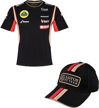 Lotus F1 Team Camiseta & Gorra Formula One 1 PDVSA Patrocinador 2014/5