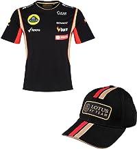 T Shirt & Cap Formula One 1 Lotus F1 Team PDVSA Sponsor 2014/5