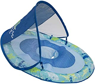 SwimWays Baby Spring Float Sun Canopy (Blue Green)