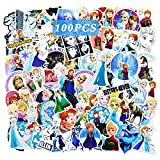 Ting Art 100 Pcs Frozen Stickers Water Bottle...