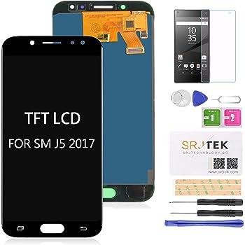 SRJTEK - Pantalla LCD de repuesto para Samsung Galaxy J5 Pro para ...
