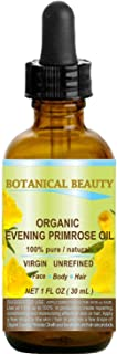 ORGANIC EVENING PRIMROSE OIL. 100% Pure / Natural / Undiluted / Unrefined /Certified Organic/ Cold Pressed ...