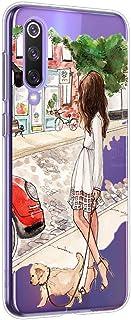 Oihxse Funda Compatible con Samsung Galaxy S8, Carcasa Transparente TPU Silicona Gel Ultra Fina Suave Protección Flexible Lindo Dibujos Anti-rasguños Caso Cubierta (A4)