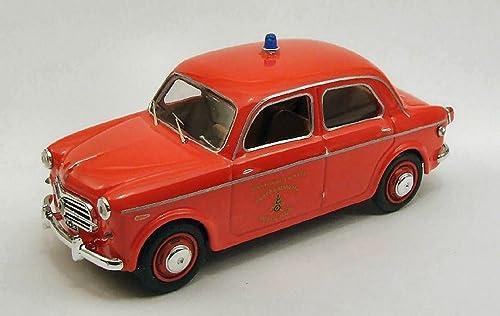 Rio RI4285 Fiat 1100 TV V.D.Fuoco 1956 1 43 MODELLINO Die CAST Model Compatible avec