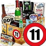 DDR Geburtstagsgeschenk / Männer Geschenk DDR / Zahl 11 / Geschenk Freund