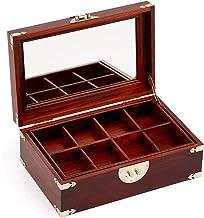 GPWDSN Sieraden Organizer Box met Lock Draagbare Sieraden Opbergtas voor Vrouwen Meisjes Oorbel Ring Ketting Houder Travel...