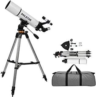 SAILSTAR 80mm Aperture 500mm Professional Observe Star Scenery Astronomical Telescope Refractor Gift