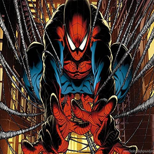 Amacigana Spider Man Drap housse 180 x 200 cm en microfibre pour matelas jusqu'à 30 cm