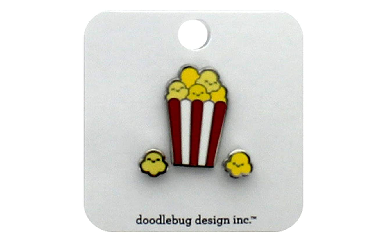 DOODLEBUG 6063 SMP Collectible Pins Popcorn