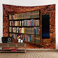 Neat Bookshelf Beautiful Mandala Tapestry Wall Hanging Beach Towel,Home Decor Tapestries Living Room Bedroom Couch Blanket 150cmX100cm