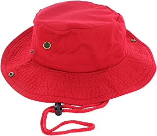 Best red bucket hat with string Reviews