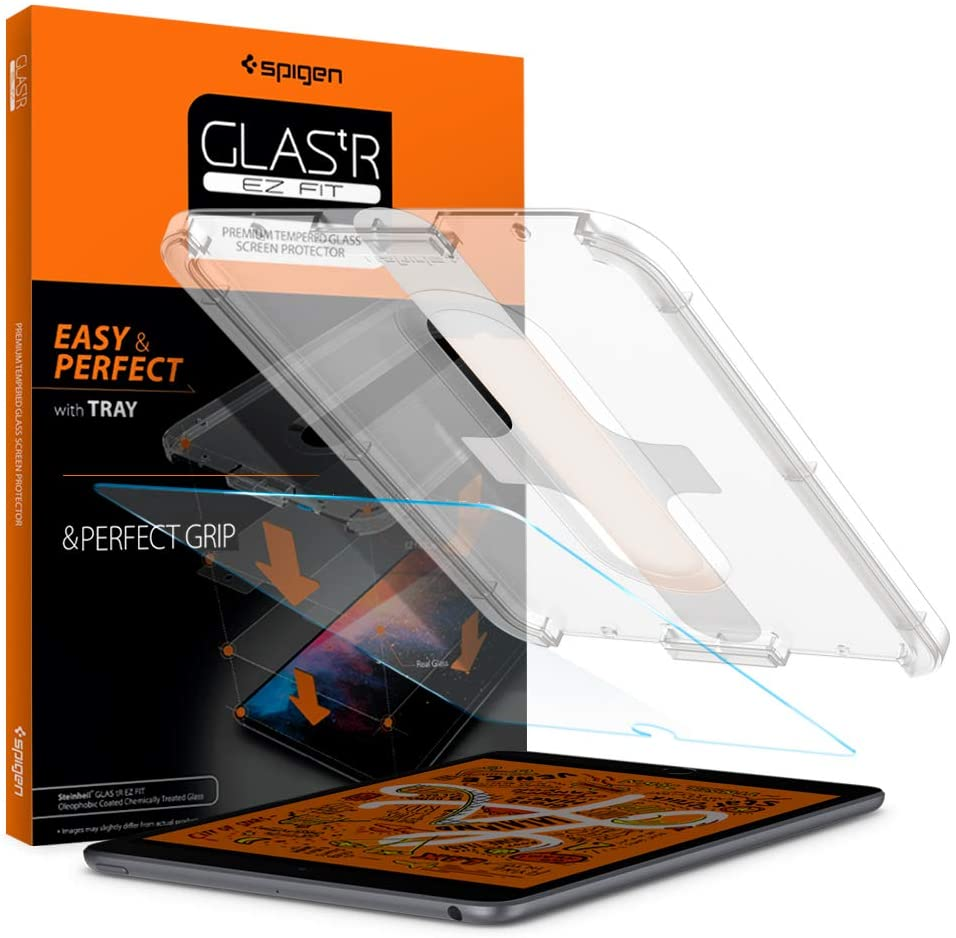 Easy-to-use Spigen Tempered Glass Screen Protector Glas.tR Fit EZ Designed Max 53% OFF