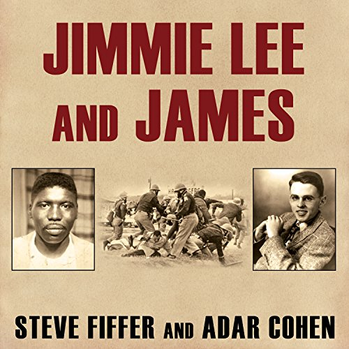 Jimmie Lee and James audiobook cover art