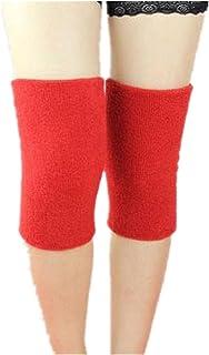 kagogo (1 双)透气棉质护膝支撑护套弯曲护膝适用于训练跑步远足提篮球男士女士青少年