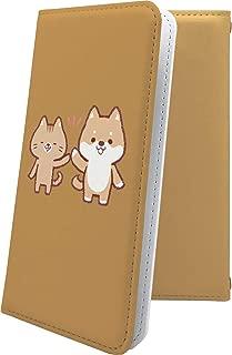 X02HT ケース 手帳型 豆柴 まめしば ねこ 猫 猫柄 にゃー エックスエイチティー 手帳型ケース 犬 いぬ 犬柄 x01 ht 女の子 女子 女性 レディース